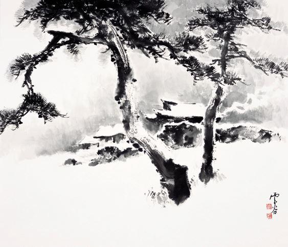 Painted by Kang Jang-won